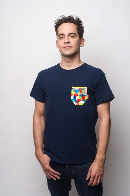 NAVY  T-SHIRT - RUBIK
