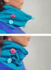 HIGH NECK DRESS - PETRA