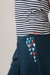 Navy trousers- AHOY