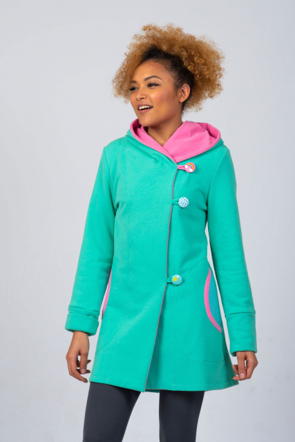 MINTH PINK COAT - RAINBOW
