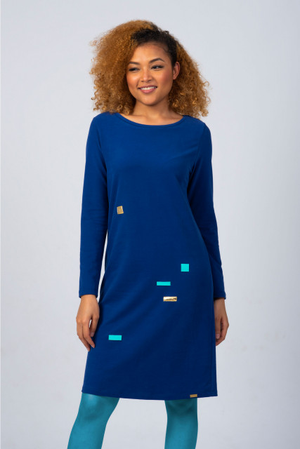 INDIGO DRESS - PUKA