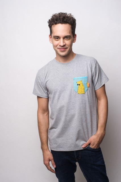 GREY T-SHIRT - BEAR